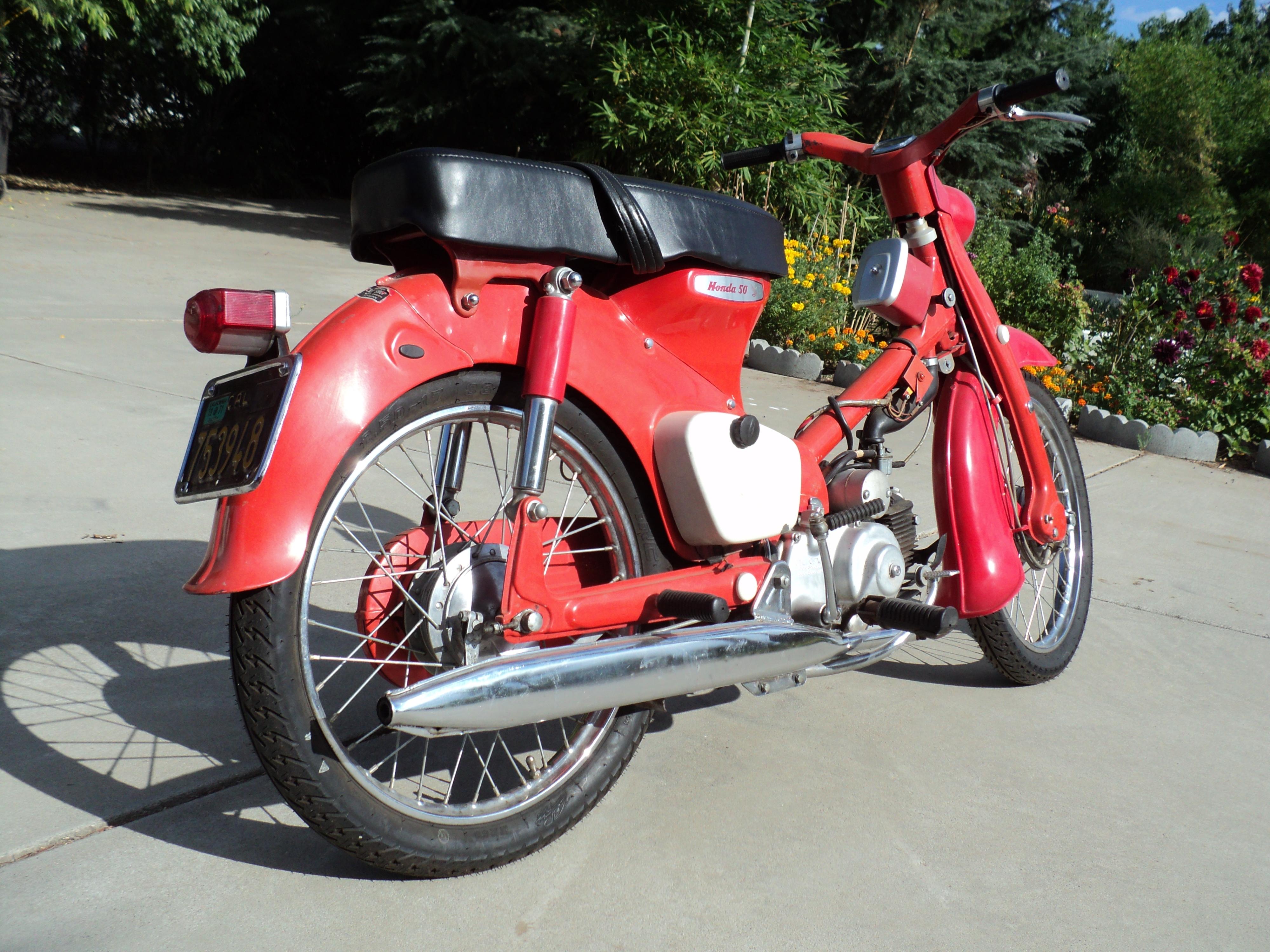 1967 Honda C50 Cub
